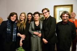 Concierto de Piano. Junto a la alcaldesa de Varsovia Hanna Gronkiewicz